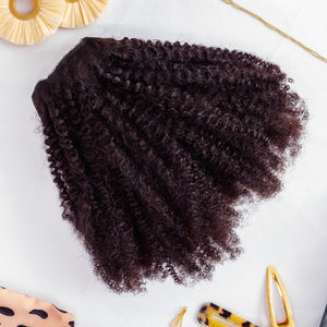 Naturalista Canada 4c / 4b Afro Kinky Coily 100% Human Hair 8 Piece Clip-in Set