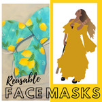 Reusable Face Masks - The Lemonade Collection