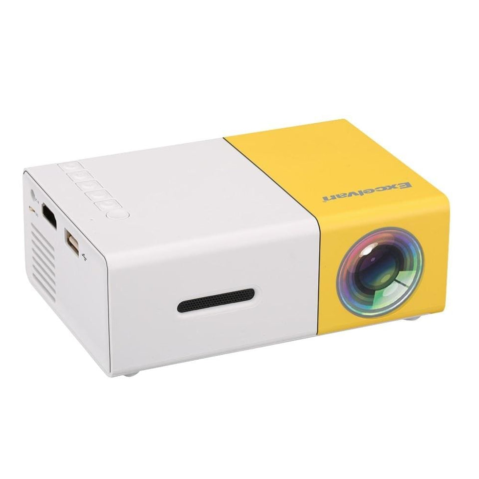VueCube HDMI 1080p Portable Mini Projector