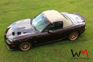 MX-5 NB & NBFL Bonnet Vents