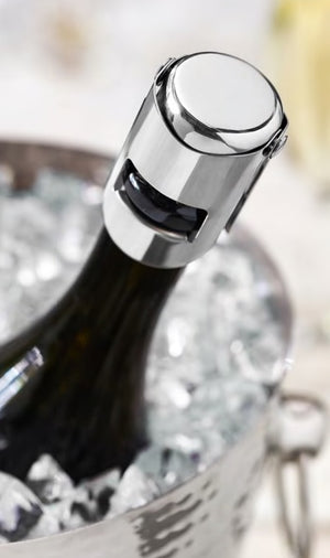 Fizz: Chrome Champagne Stopper
