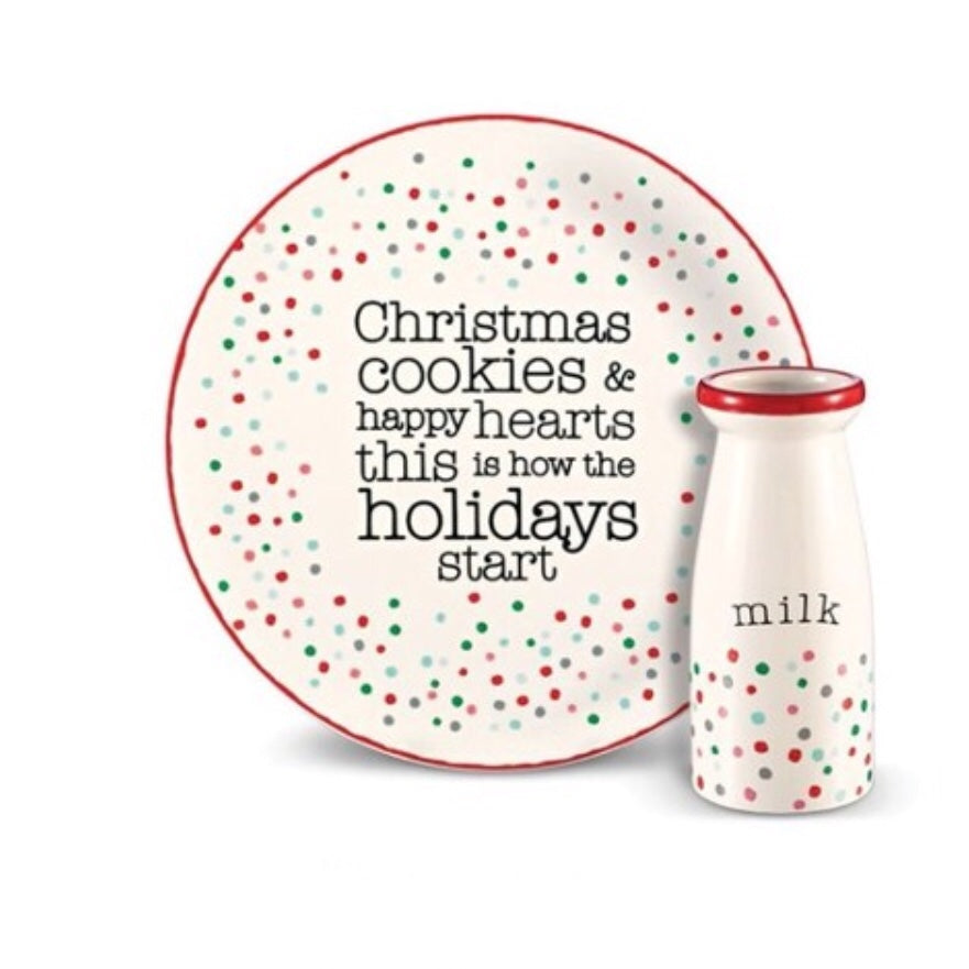 Milk and Cookie Set