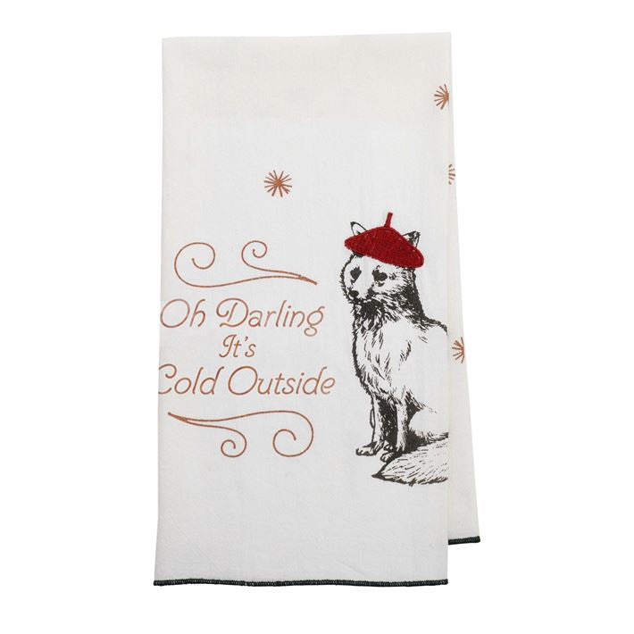 Oh Darling Tea Towel