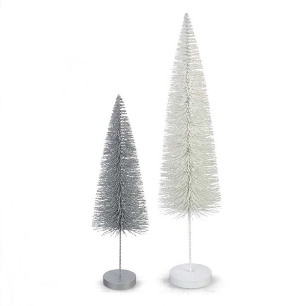 Short Glitter Brush Tree