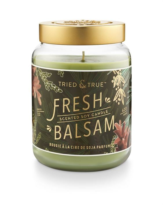 Tried & True 22 ounce Fresh Balsam Candle