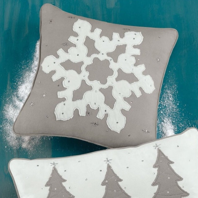 Snowflake Pillow