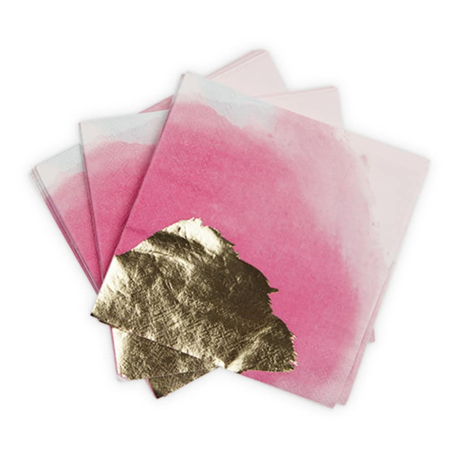 Brushstroke Multi Dinner Napkins