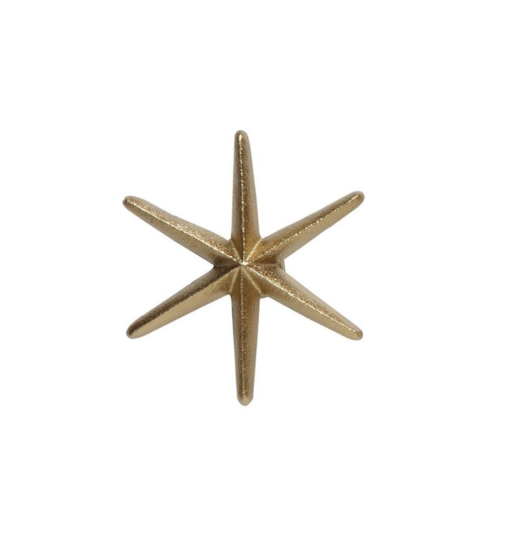 Cast Iron Gold Star Wall Hook