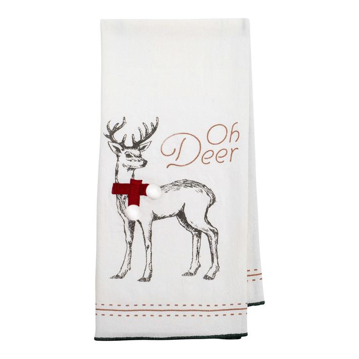 Oh Deer Tea Towel