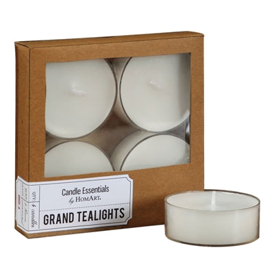 Grand Tealights 4 pack
