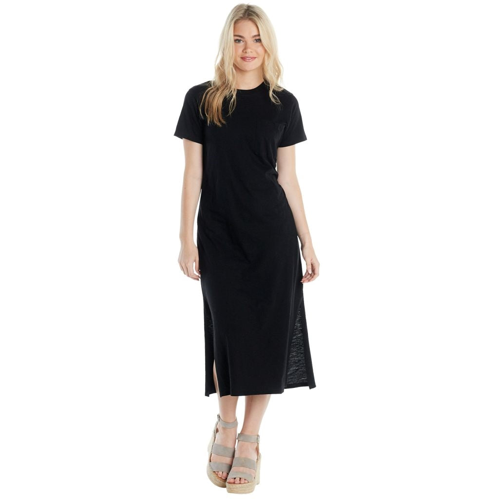 Grayson Black Tshirt Dress - Medium