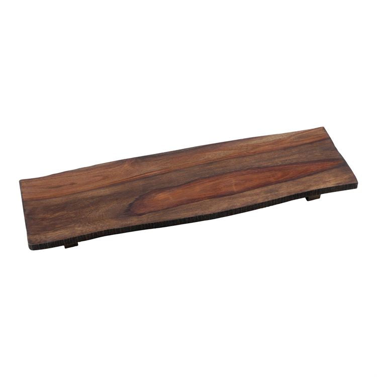 Large Footed Wood Serving Board