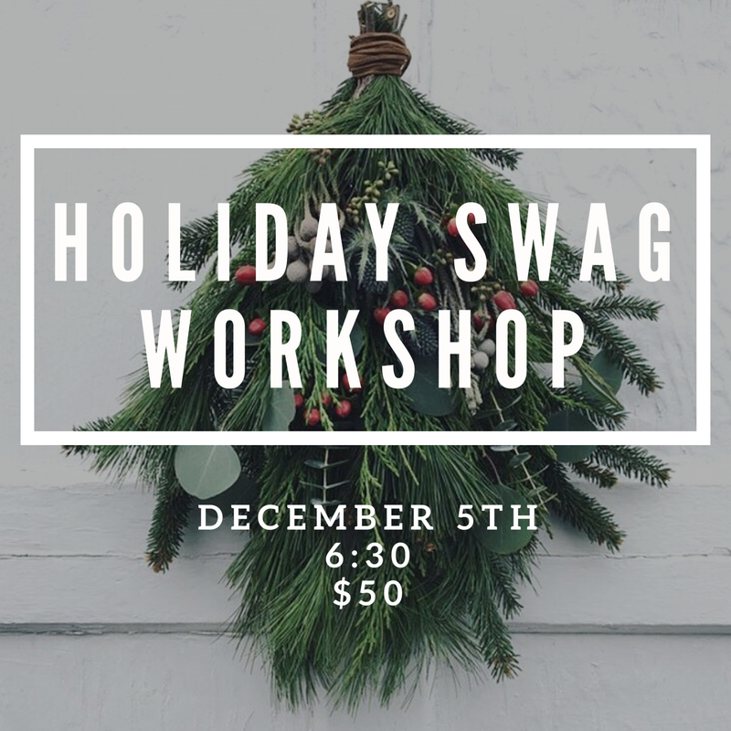 Swag Workshop