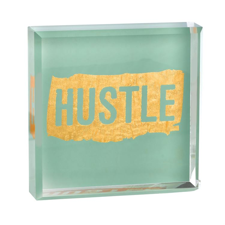 Hustle Paperweight