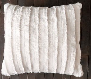 "Soft Off White 20"" Pillow"