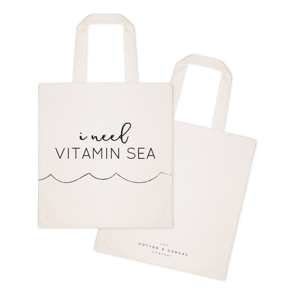 I Need Vitamin Sea Tote Bag