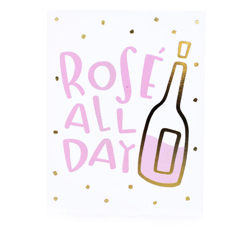 Rose All Day Birthday Greeting Card