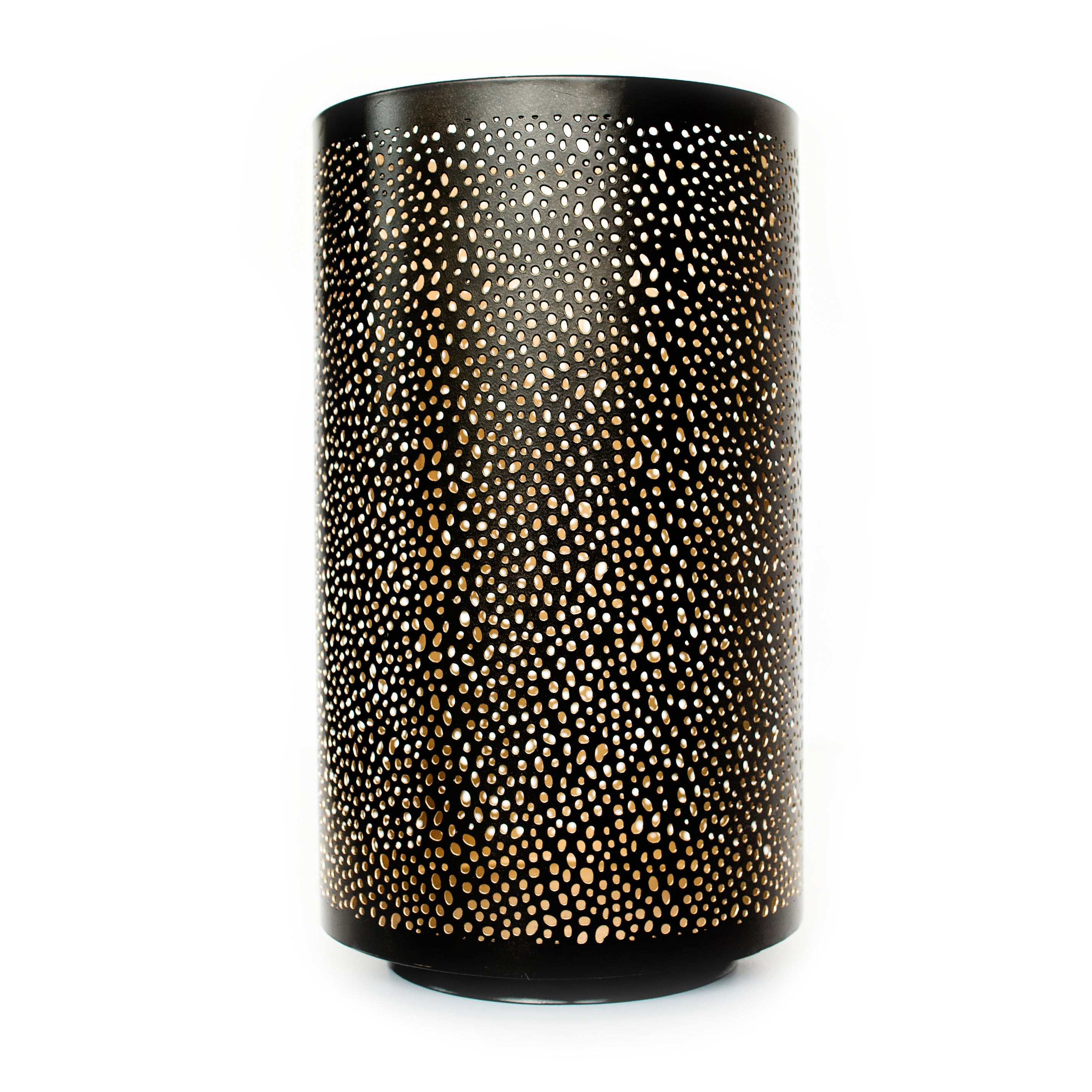 Metal Mesh Hurricane Candle Holder