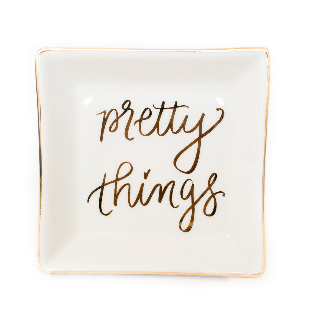Pretty Things Trinket Dish