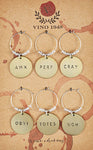 Personalities Wine Charms
