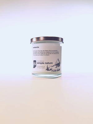 Simple Nature Avalanche Candle