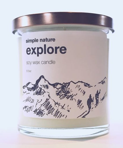 Simple Nature Explore Candle