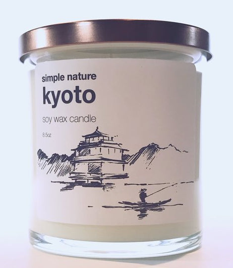 Simple Nature Kyoto Candle