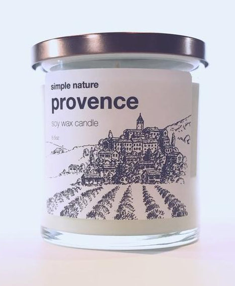 Simple Nature Provence Candle