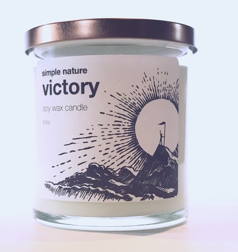 Simple Nature Victory Candle