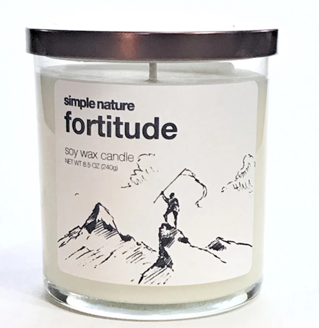 Simple Nature Fortitude Candle
