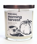 Simple Nature Morning Harvest Candle