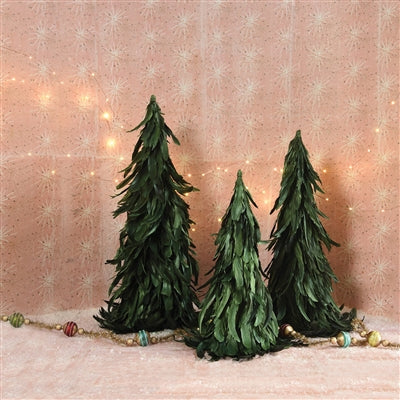 Feather Green Christmas Tree