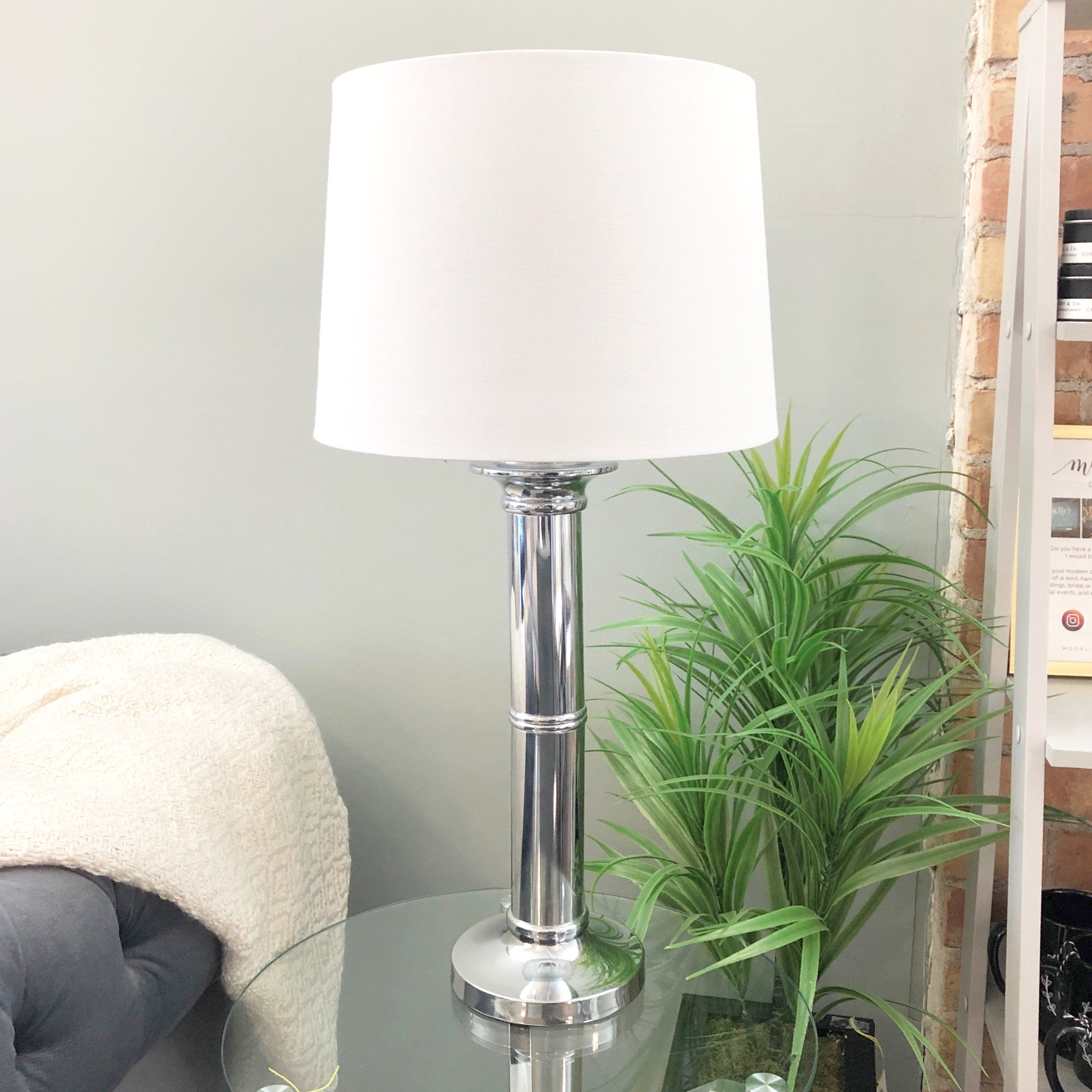 Table Lamp - Silver