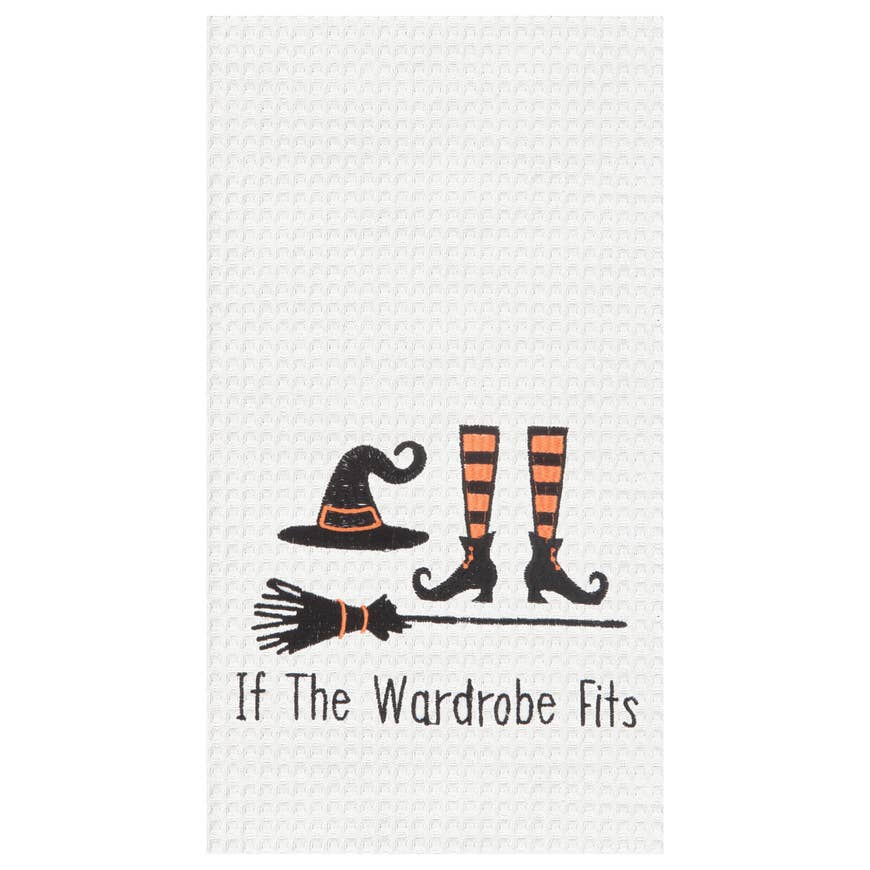 """If the Wardrobe Fits"" Hand Towel"