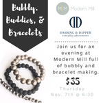 Bubbly Buddies and Bracelets Workshop