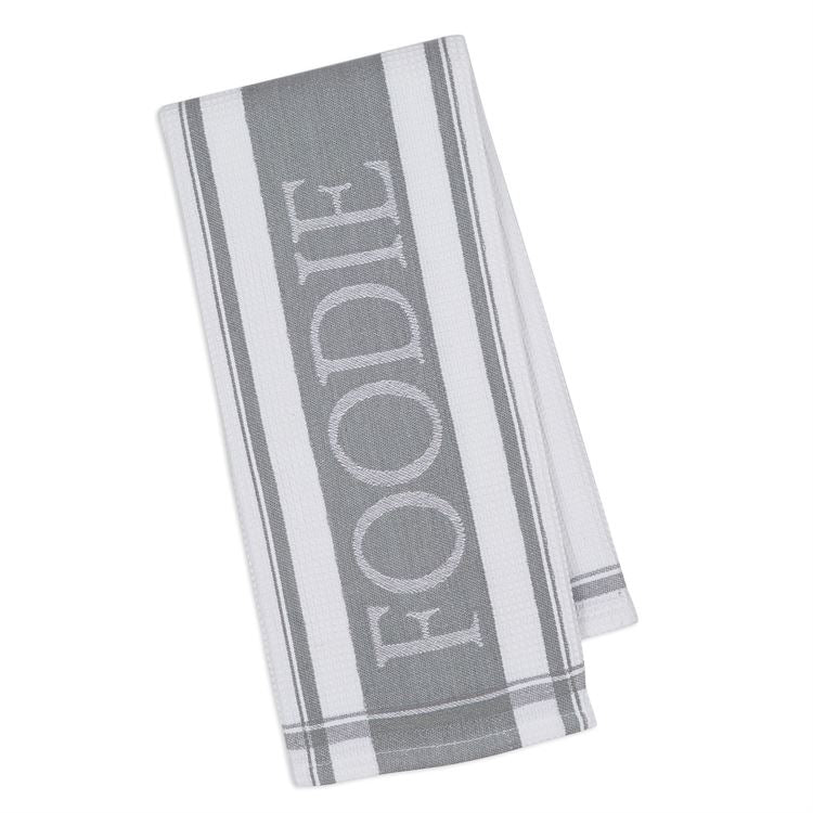 "Granite ""Foodie"" Dish Towel"