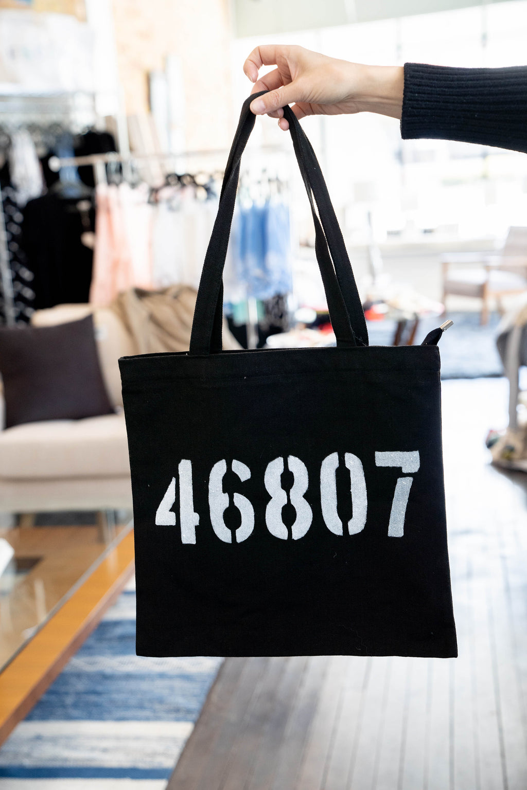 Zip Code Canvas Bags