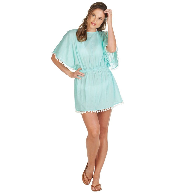 Kiara Pom Pom Cover Up - Medium