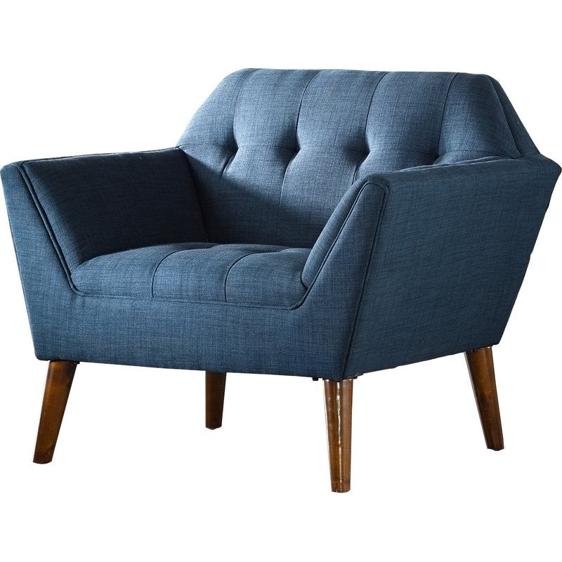 Peacock Blue Lounge Chair