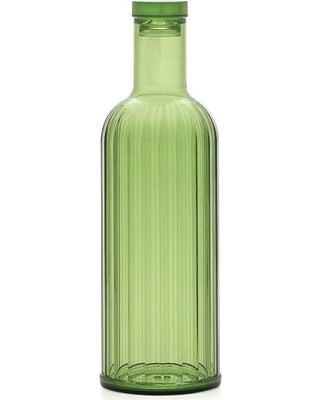 Rio Ribbed Green Acrylic Bottle