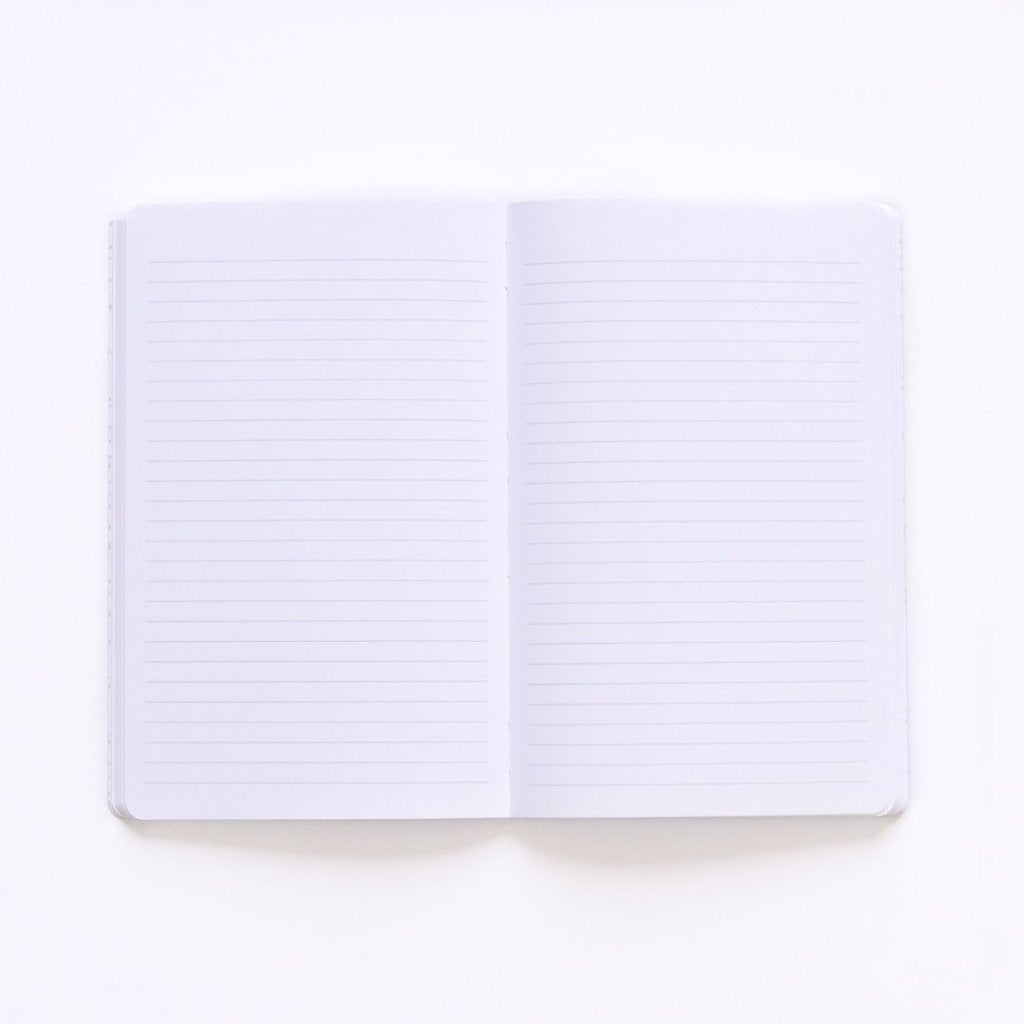 Sky Layflat Softcover Lined Notebook
