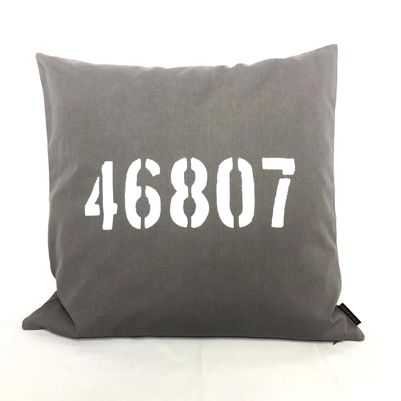 "Zip Code 20"" Pillow"