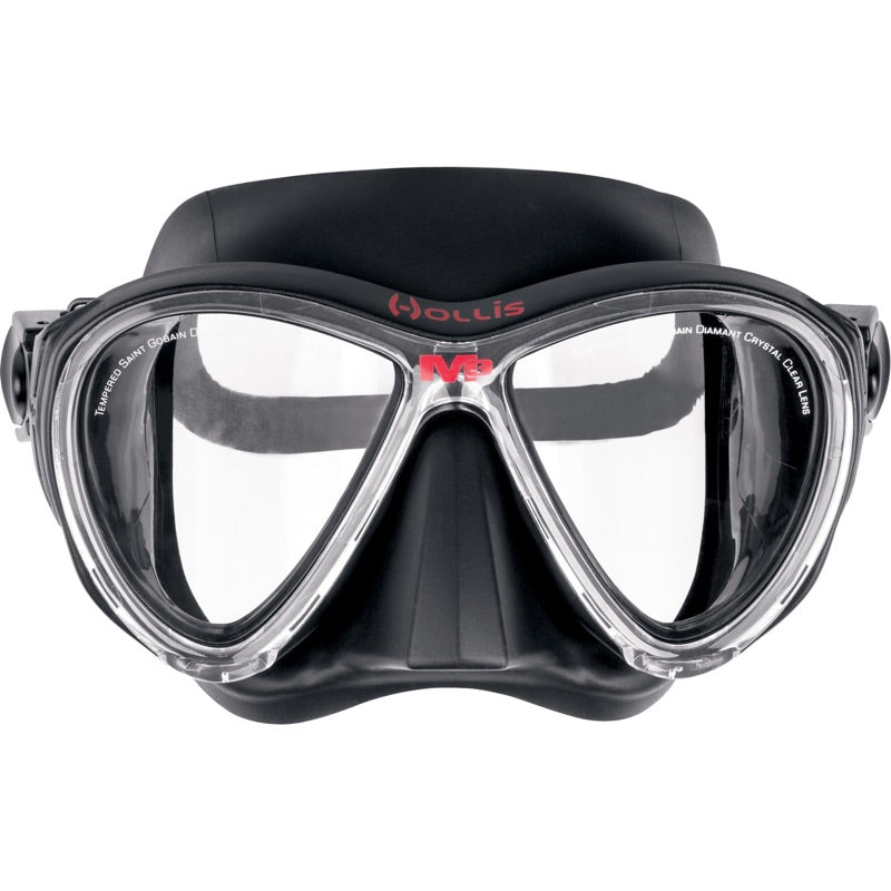 HOLLIS INSTRUCTORS CHOICE MASK SNORKEL FIN PACKAGE