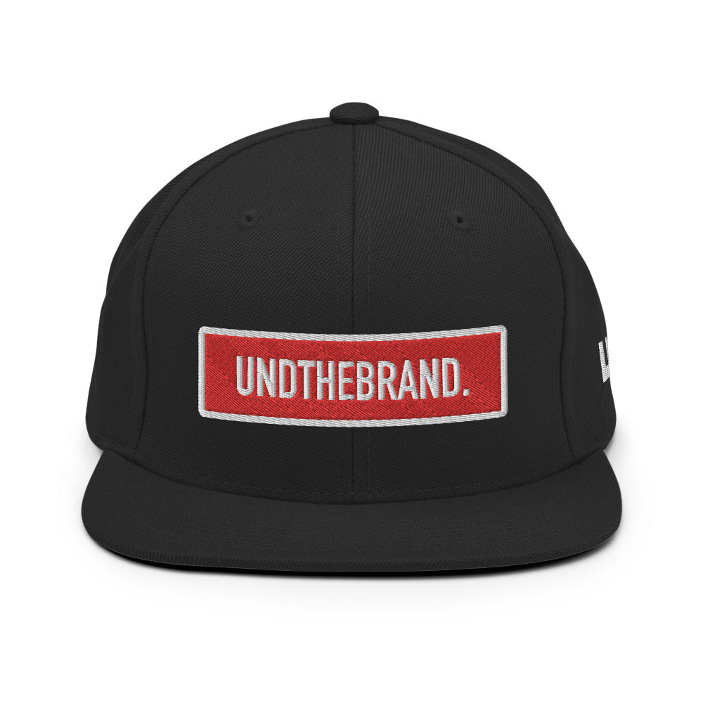 Classic Bar Snapback - Black/Red