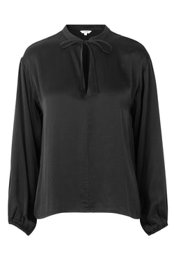 mbyM Lottie blouse, grey, front view