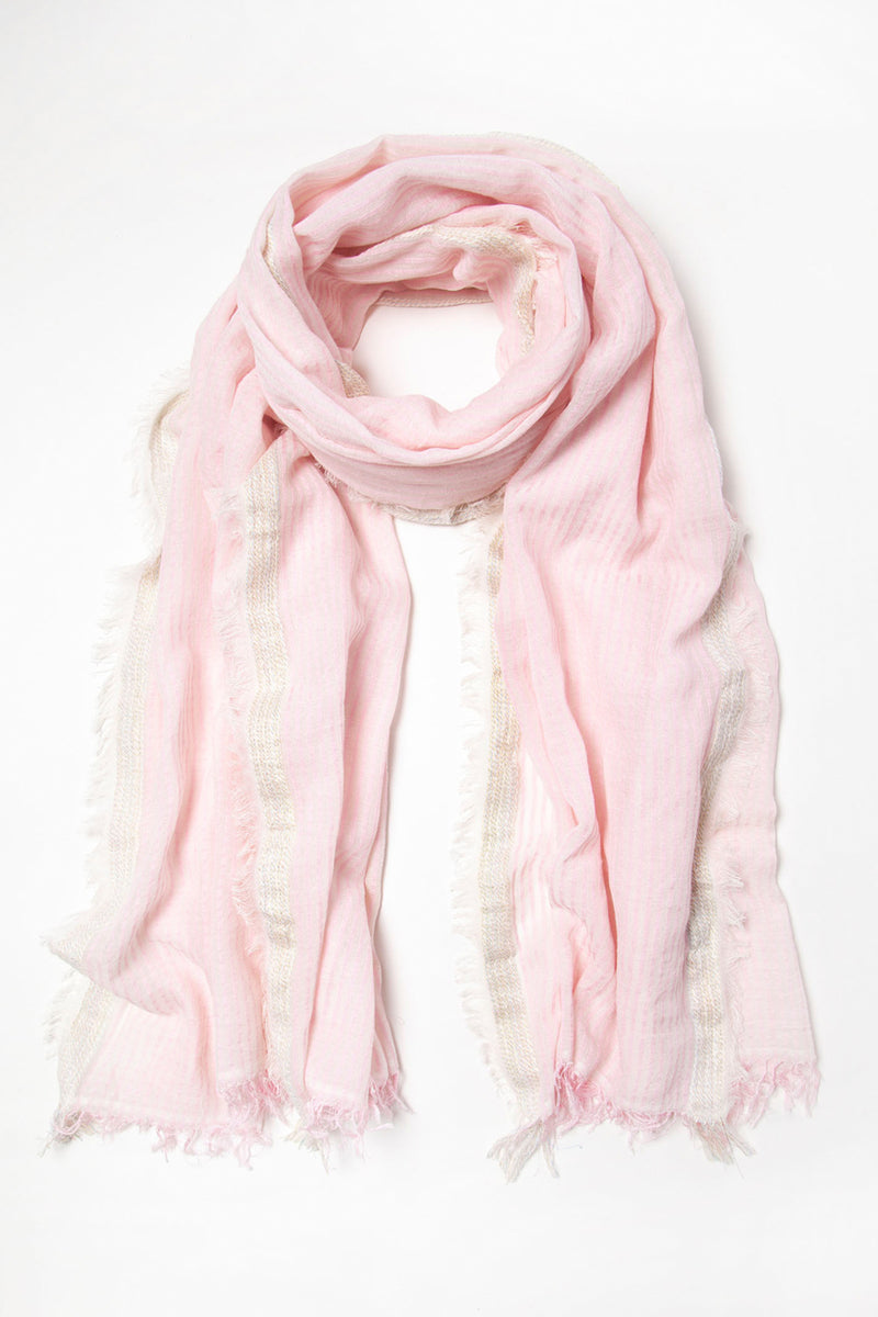 Ombre scarf, Pink