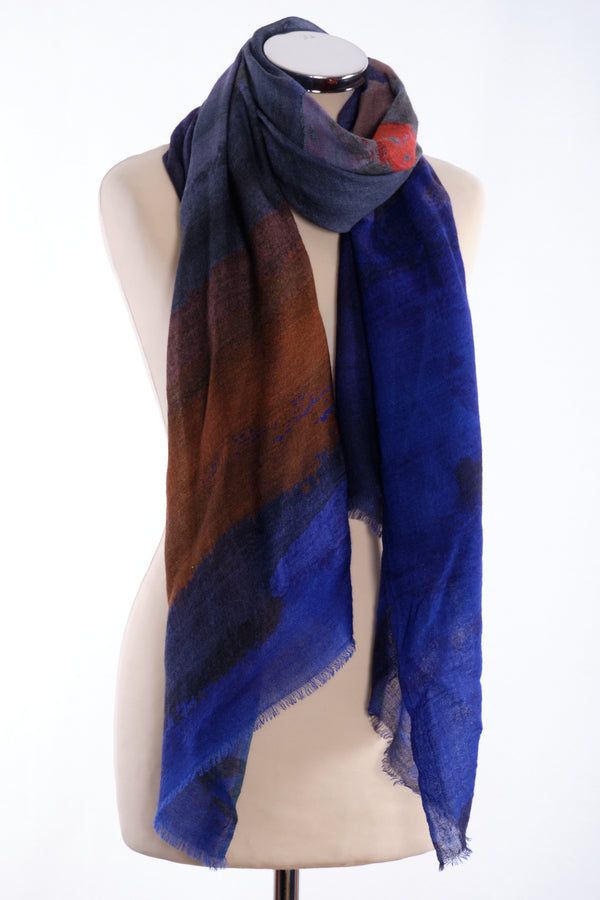 Ombre Scarf, purple