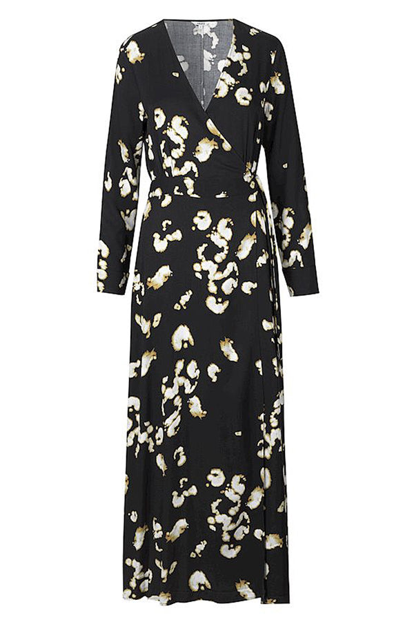 mbyM Evelia maxi dress, black, front view