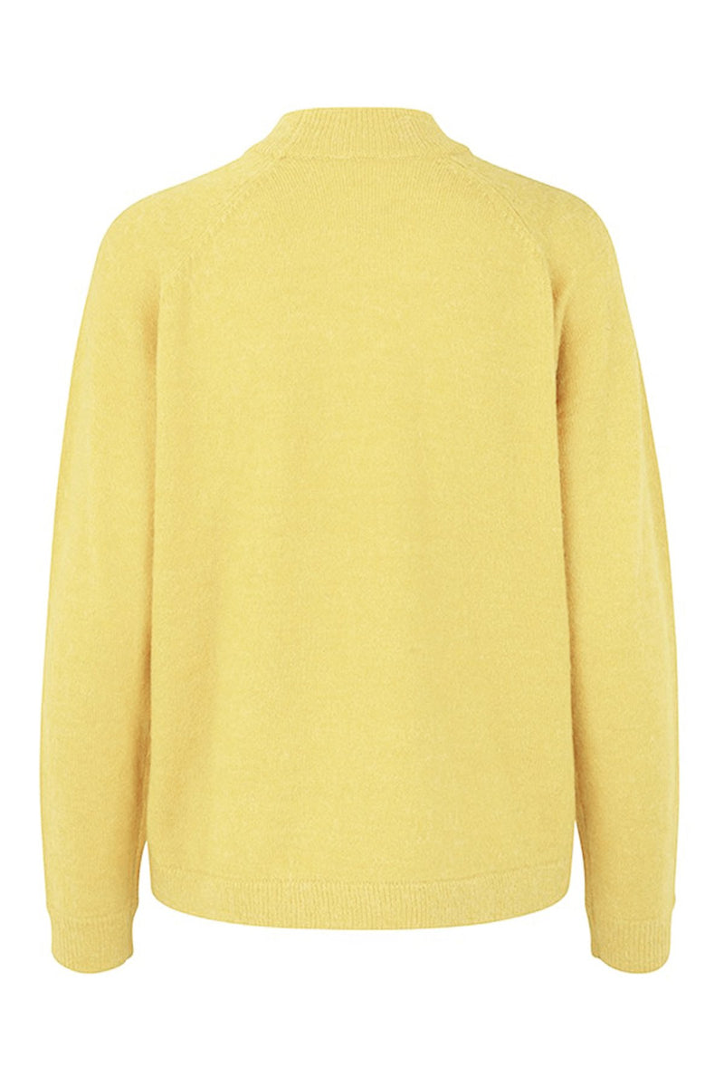 Elwira, jumper yellow