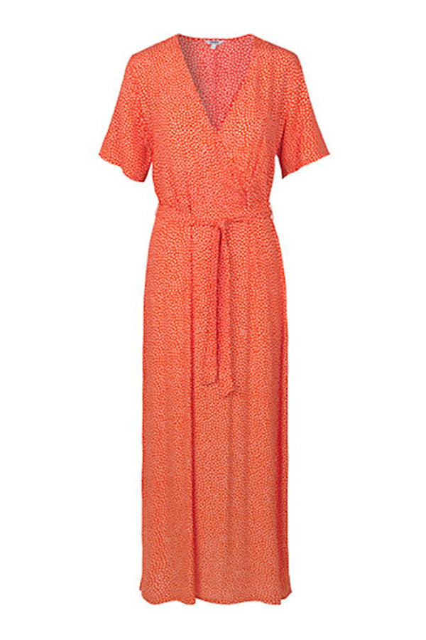 mbyM Semira dress, orange, front view